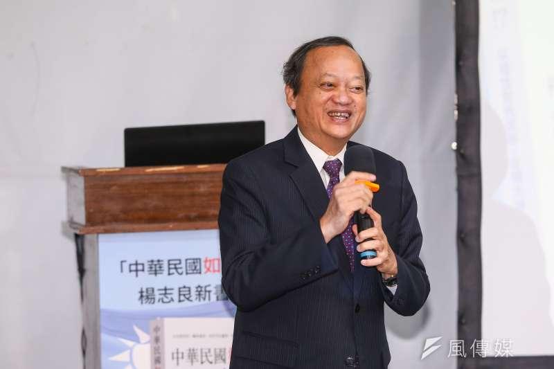 20190625-慈濟大學公共衛生學系榮譽教授葉金川25日出席前衛生署長楊志良「中華民國如何不亡!?」新書發表會。(顏麟宇攝)