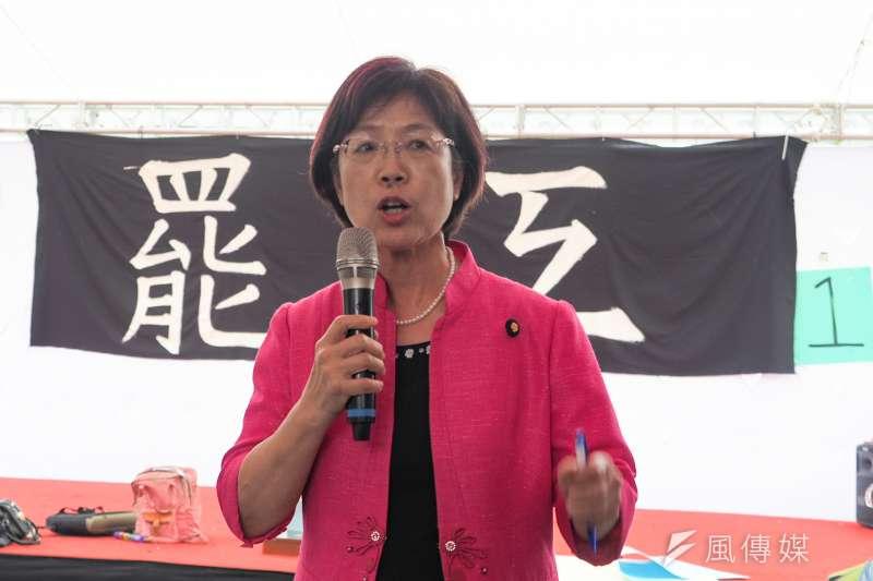 民進黨立委尤美女在臉書提醒,長榮航空資方切勿秋後算帳。(資料照,顏麟宇攝)