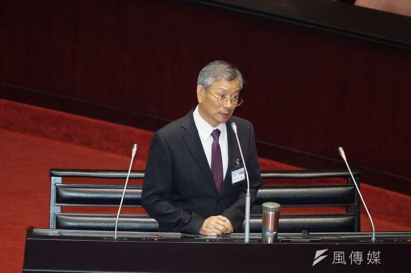 20190626-立法院對司法院大法官被提名人進行詢答,被提名人呂太郎發言。(盧逸峰攝)