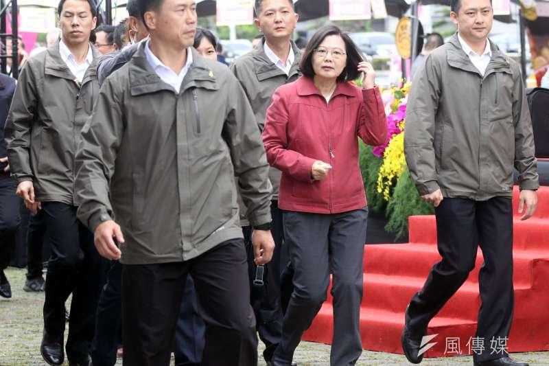 國安私菸案凸顯蔡政府的領導危機。(蘇仲泓攝)