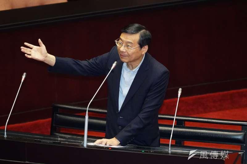 20190626-立法院對司法院大法官被提名人進行詢答,立委曾銘宗出席。(盧逸峰攝)