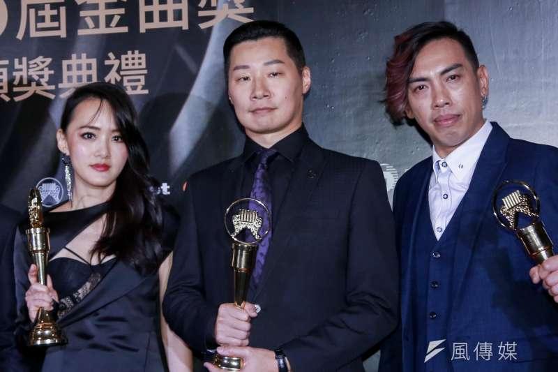 20190629-2019第30屆金曲獎 最佳樂團獎:閃靈樂團。(簡必丞攝)