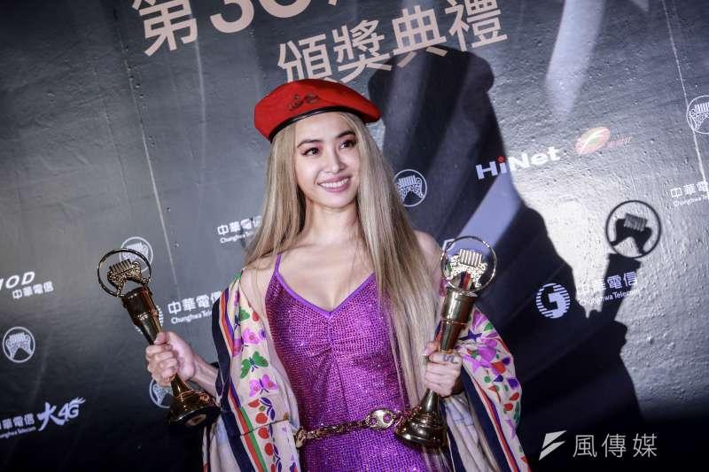 台灣藝人蔡依林等公眾人物因表態支持東奧台灣選手而被中國網友出征。(資料照,簡必丞攝)