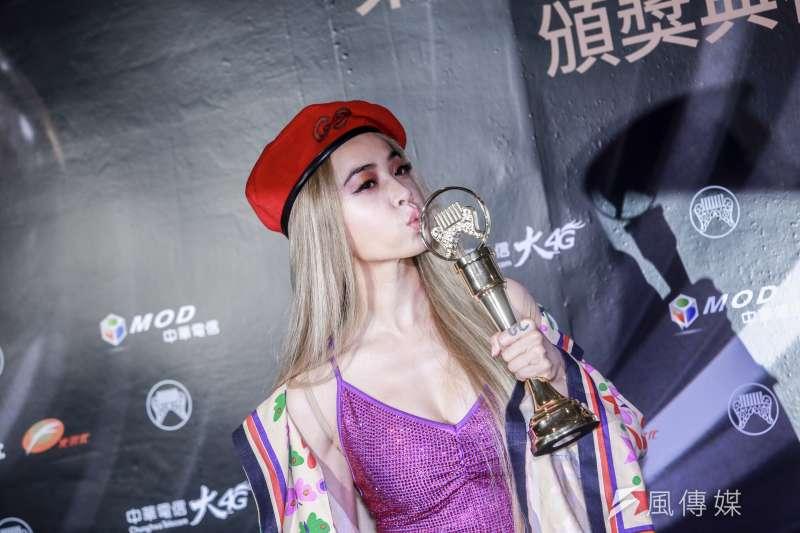 20190629-2019第30屆金曲獎,年度專輯獎由蔡依林的 Ugly Beauty拿下。(簡必丞攝)