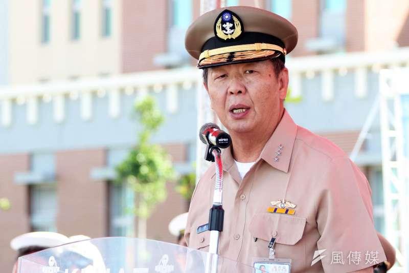 國防部今(15)日傍晚發布訊息,參謀總長職缺將由海軍司令黃曙光上將接任。(資料照,蘇仲泓攝)