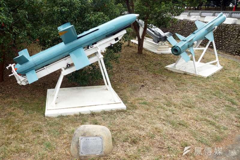 20190702_除役的雄風一型飛彈。雄風飛彈。(資料照,蘇仲泓攝)