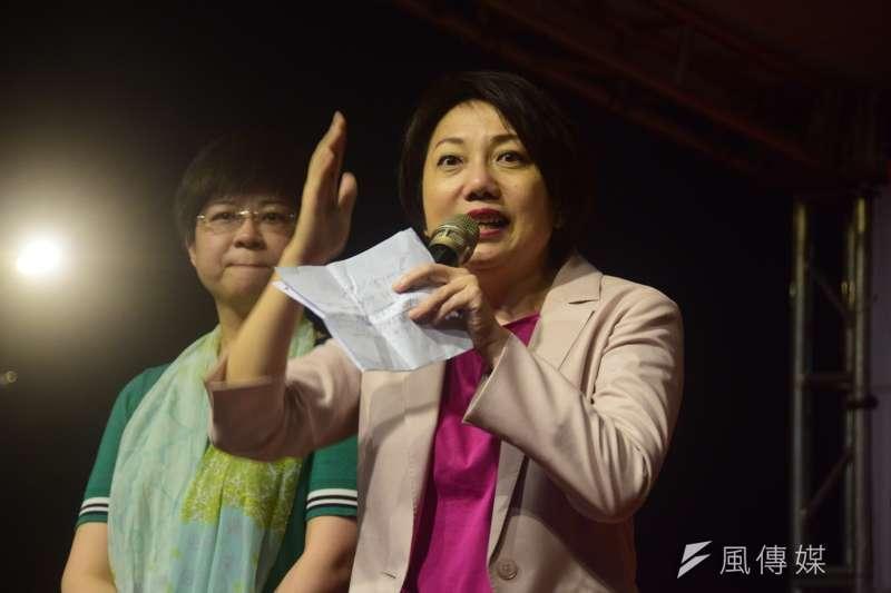 社民黨立委選舉參選人范雲4日表示,為了團結抗中保台,她會持續與民進黨溝通,促成台北市大安區與全國的合作。(資料照,吳俊廷攝)