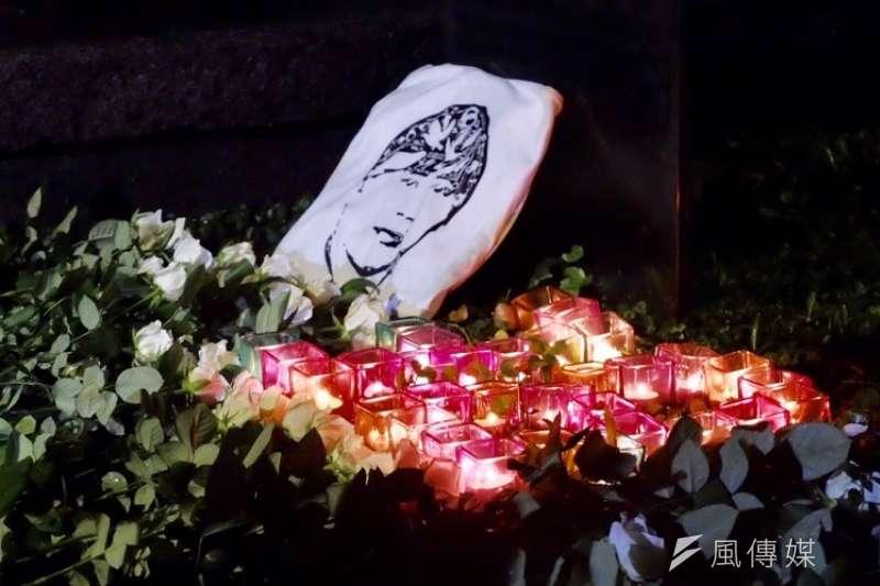 20190702_陳文成事件38周年紀念晚會。台大陳文成紀念廣場。(謝孟穎攝)