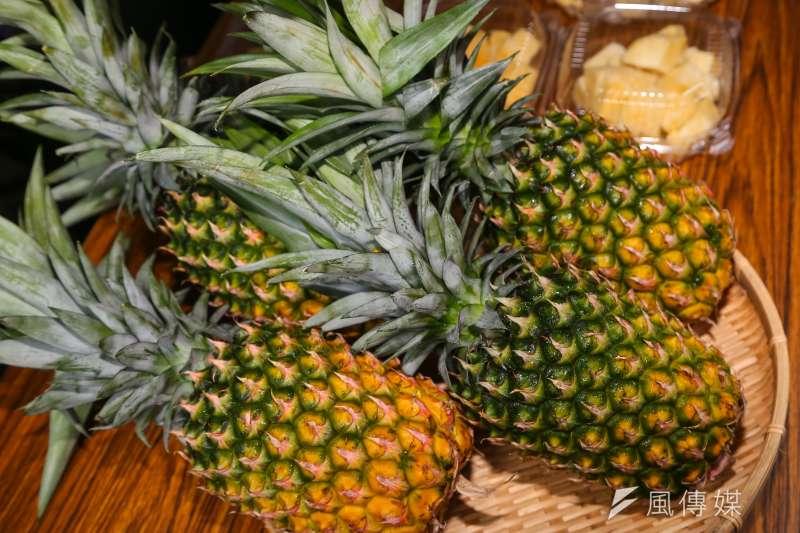 中方宣布因多次從台灣菠蘿(鳳梨)中截獲檢疫性有害生物,決定於3月1日起暫停進口台灣鳳梨。(資料照,顏麟宇攝)