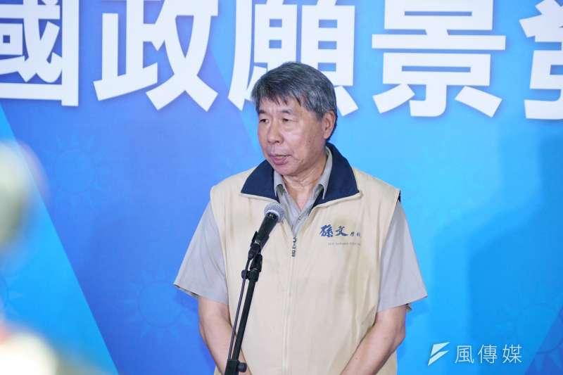 孫文學校校長張亞中強調,若國民黨的兩岸政策仍是「一中各表」,就無法創造兩岸和平。(盧逸峰攝)