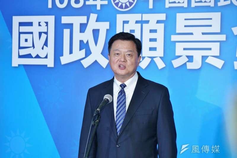 20190703-國民黨國政願景發表會,前台北縣長周錫瑋出席。(盧逸峰攝)