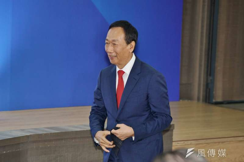 20190703-國民黨國政願景發表會,鴻海前董事長郭台銘出席。(盧逸峰攝)