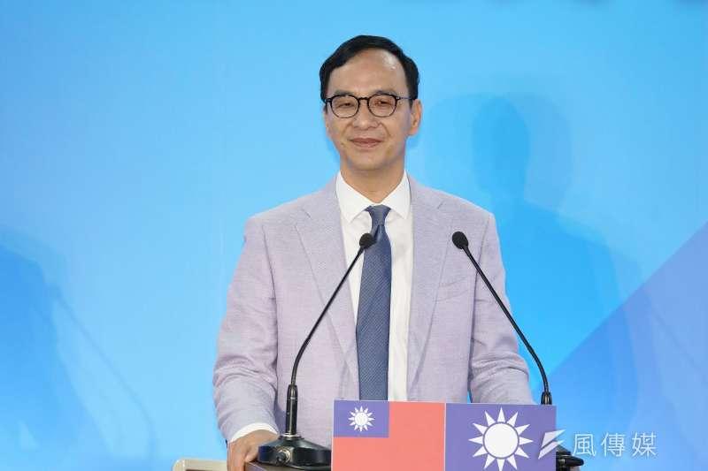 20190703-國民黨國政願景發表會,前新北市長朱立倫出席。(盧逸峰攝)