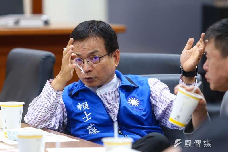 國民黨立委賴士葆日前表示,支持高雄市長韓國瑜「帶職參選」。(資料照,顏麟宇攝)