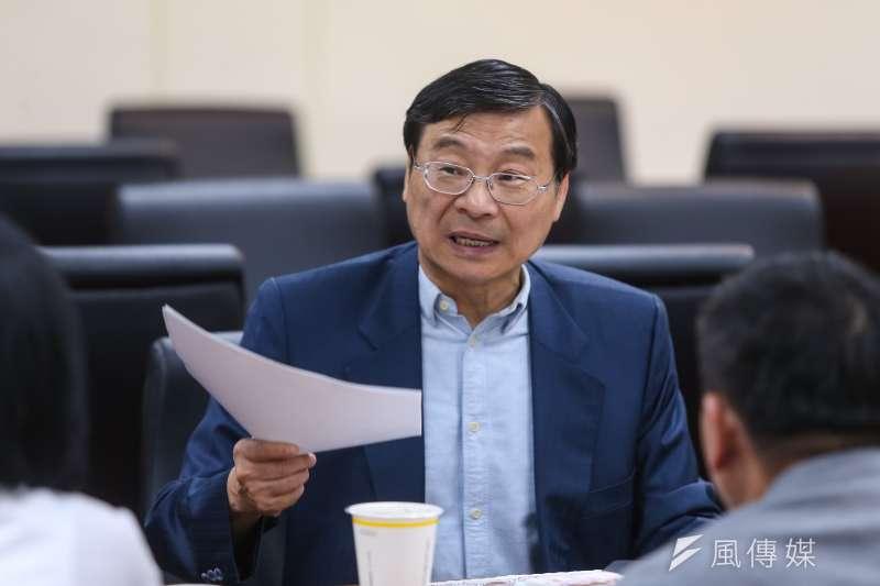 20190703-國民黨立委曾銘宗3日出席國民黨團大會。(顏麟宇攝)