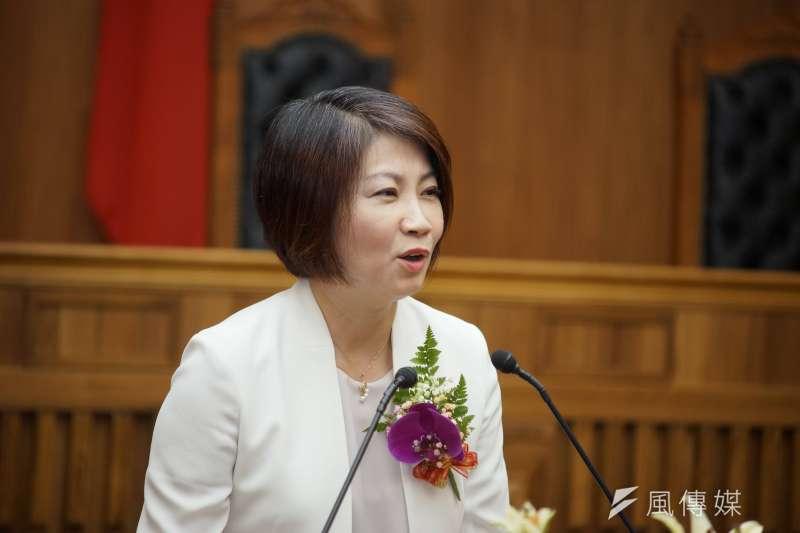 20190704-最高法院大法庭揭牌典禮,立委周春米出席。(盧逸峰攝)