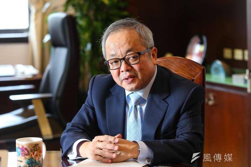 20190704-前行政院副院長施俊吉專訪。(顏麟宇攝)