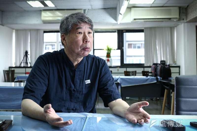 20190705-專訪國民黨總統參選人張亞中。(陳品佑攝)