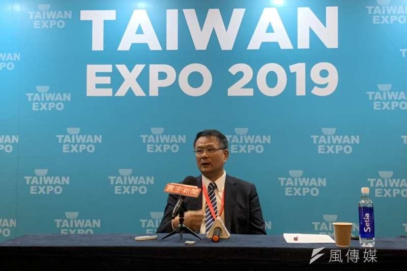 20190705-檳城州台灣商會會長、和泰電子董事長李鴻隆。(尹俞歡攝)