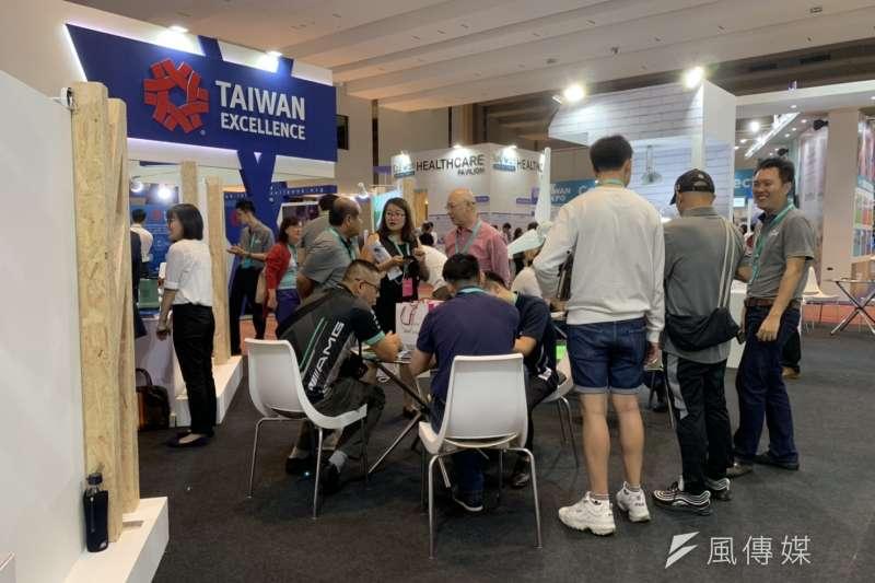 20190706-檳城台灣形象展區。(尹俞歡攝)