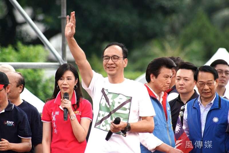 20190707-20190707-國民黨反鐵籠公投凱道大會師活動,朱立倫出席。(盧逸峰攝)