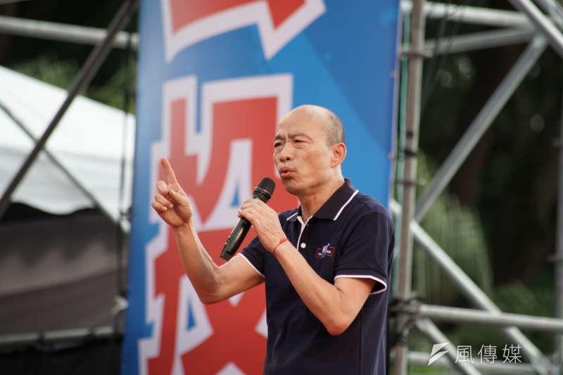 綠委郭正亮提醒蔡英文,對韓國瑜不能輕忽。(資料照,盧逸峰攝)