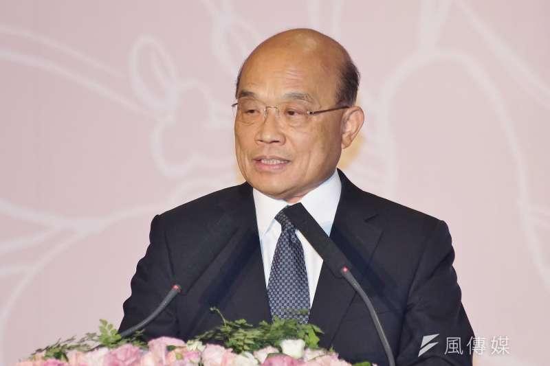 20190707-行政院長蘇貞昌出席「平復司法不法之第三、四波有罪判決撤銷公告儀式」。(盧逸峰攝)