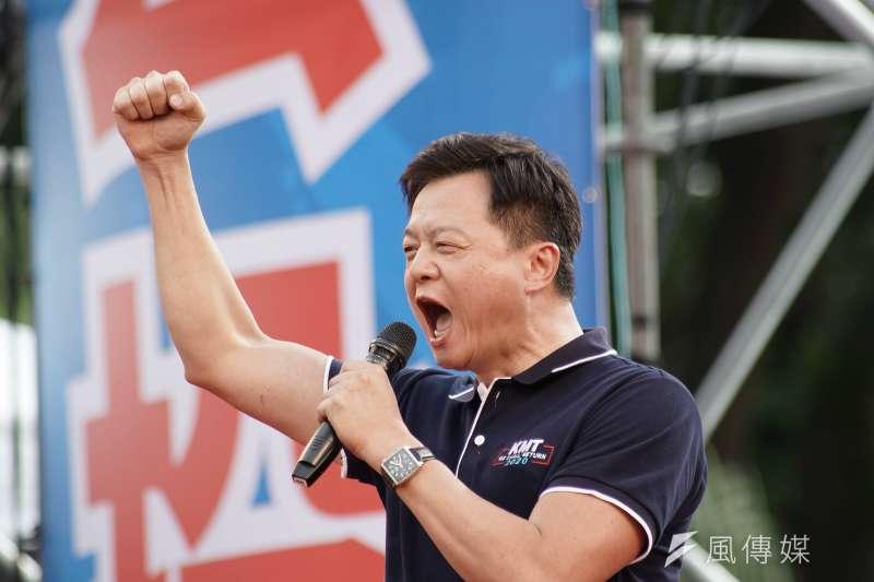周錫瑋近來的「中華民國統一中國」說法,引起各界討論,他22日在臉書開直播,反擊批評他的人。(資料照,盧逸峰攝)