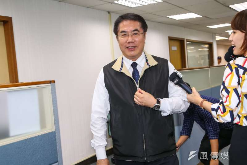 20190710-台南市長黃偉哲10日出席民進黨中執會。(顏麟宇攝)