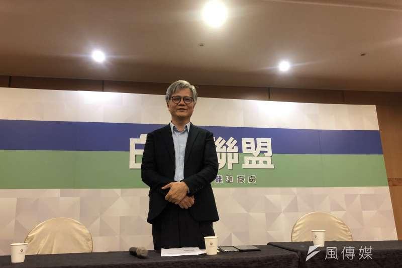 20190710-吳蕚洋出席白色聯盟黨員成立大會(張雅如攝)