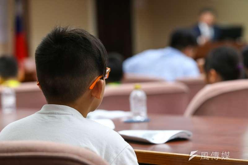 20190710-國小學童,眼鏡兒童。(顏麟宇攝)