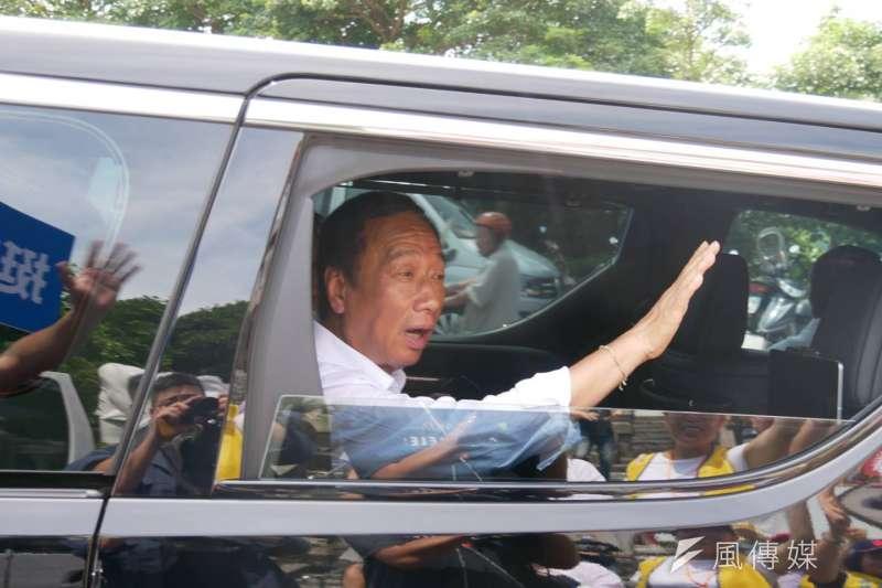 對於國民黨總統初選,媒體人黃創夏直言,前鴻海董事長郭台銘被賣了,還要自己付鈔票。(資料照,潘維庭攝)