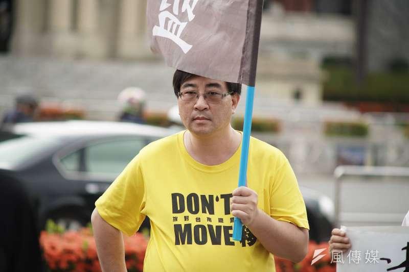 作者撰文批評政府,遭台南市政府提出告訴。(資料照,盧逸峰攝)