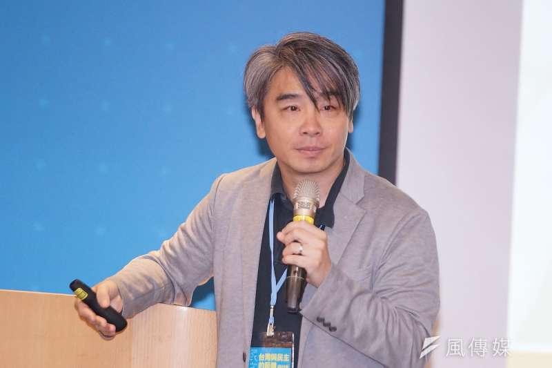 20190714-長風基金會我們與民主的距離研討會,政大法律系副教授廖元豪出席。(盧逸峰攝)