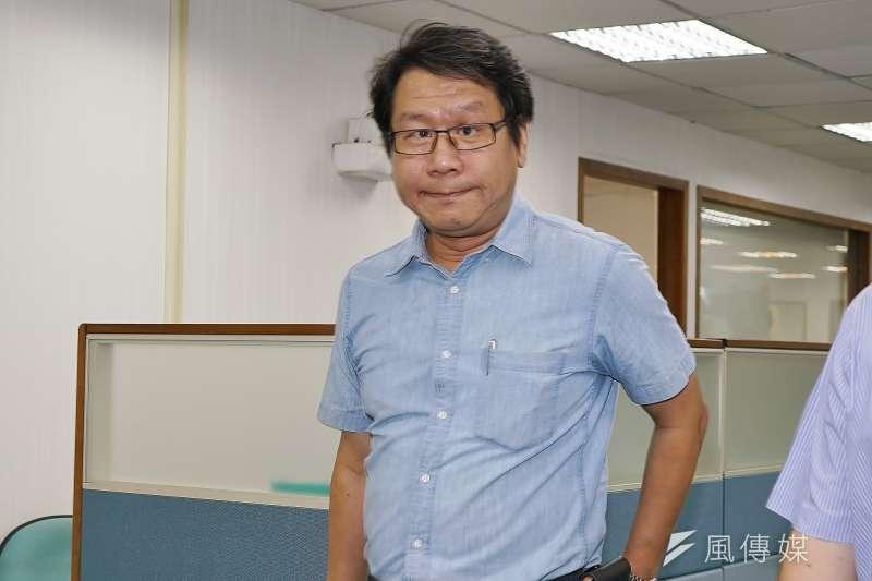 20190717-前立委沈發惠出席民進黨中常會。(盧逸峰攝)