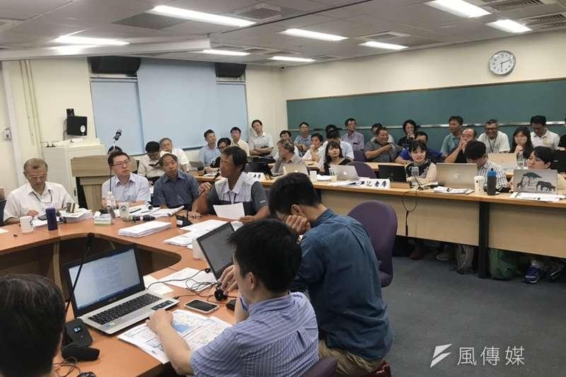 20190717-環評大會通過興達電廠燃氣機組更新審查。(廖羿雯攝)