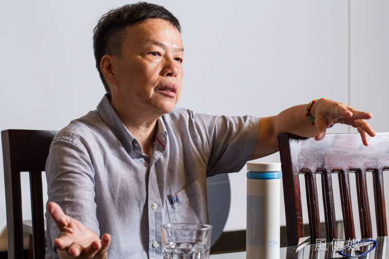 20190719-導演王小棣19日接受專訪。(蔡親傑攝)