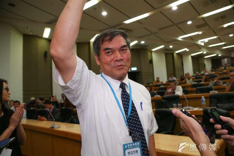 20190720-喜樂島聯盟20舉行政黨成立大會,並選出羅仁貴為第一屆黨主席。(顏麟宇攝)