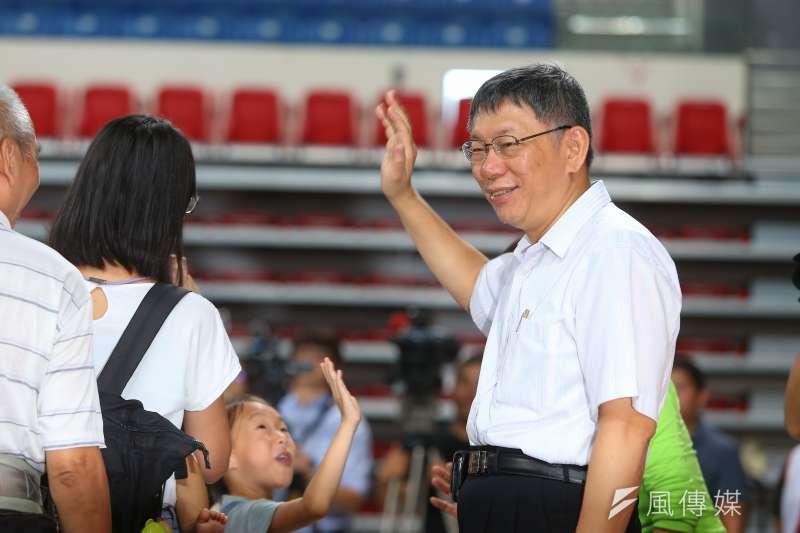 台北市長柯文哲是否參選2020,目前是各方關注焦點。(資料照片,顏麟宇攝)