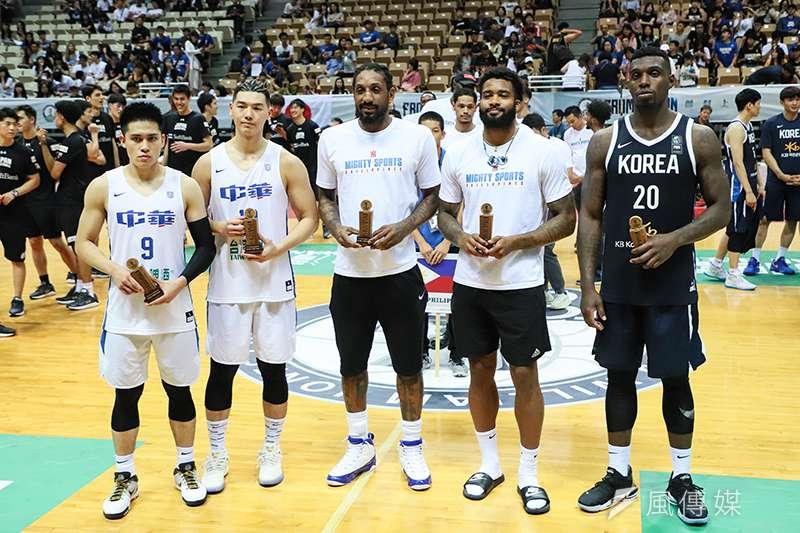 第41屆瓊斯盃男子組賽事落幕了,未來中華隊的歸化球員又該何去何從?(圖/余柏翰攝)