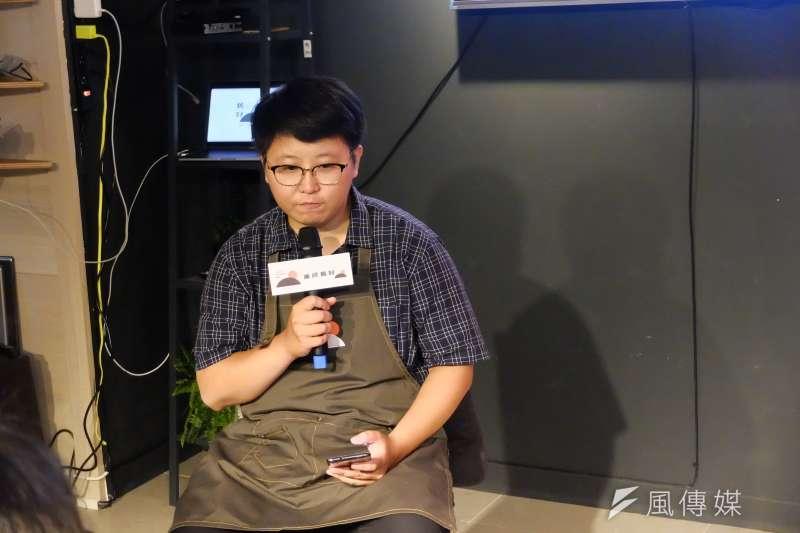 台北暖心小食堂「重修舊好」開張,「重修舊好」店長林依婷(謝孟穎攝)