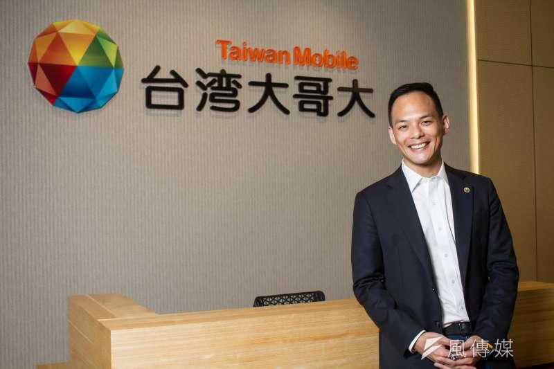 台灣大哥大(圖為台灣大哥大總經理林之晨)宣布6月30日舉行5G開台記者會。(蔡親傑攝)
