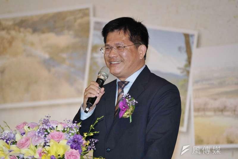 交通部長林佳龍今天表示,他支持設立罷工預告期,讓遊戲規則可以更清楚。(資料照,盧逸峰攝)