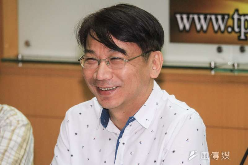 前時代力量黨主席邱顯智認為,黨內立委徐永明(見圖)是適合接任黨魁的人選之一。(資料照,蔡親傑攝)