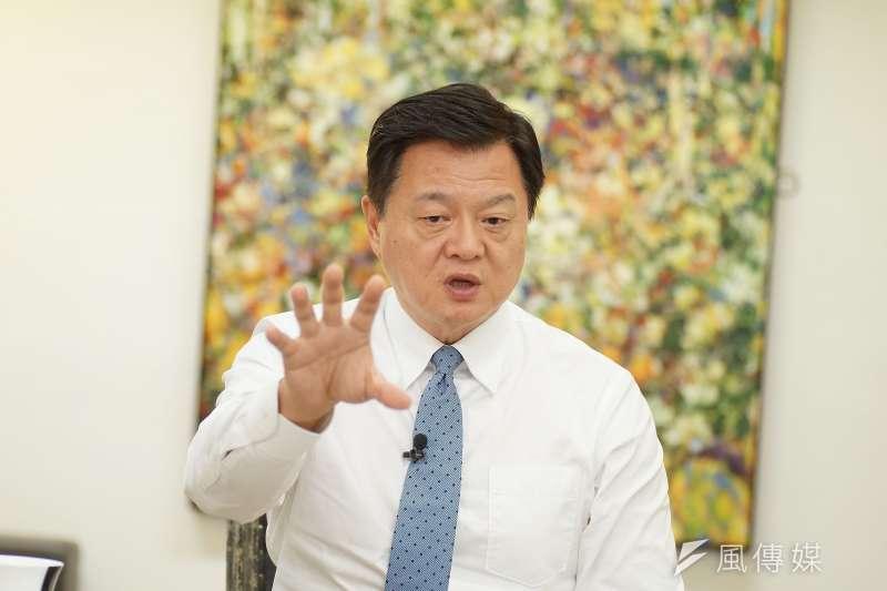 前台北縣長周錫瑋(見圖)認為,前鴻海董事長郭台銘90%不會脫黨參選。(資料照,盧逸峰攝)