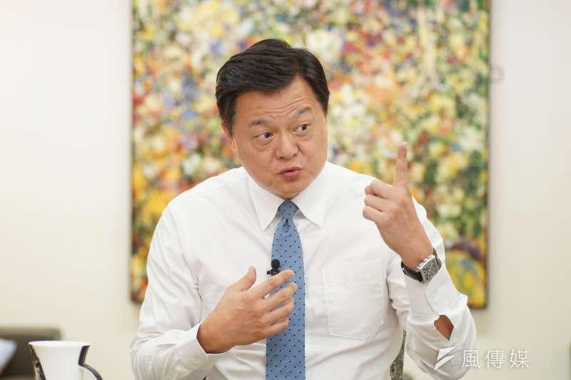 前台北縣長周錫瑋(見圖)日前在節目中堅定強調「總統蔡英文就是沒有倫敦政經學院的論文」。(資料照,盧逸峰攝)
