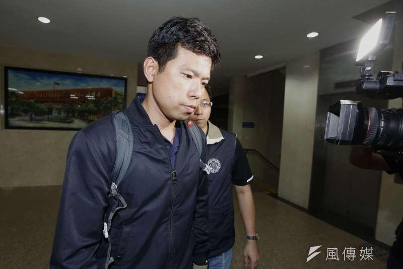 涉及菸品走私案,國安局人員吳宗憲上月23日凌晨移送北檢,複訊後遭到收押禁見。(新新聞郭晉瑋攝)