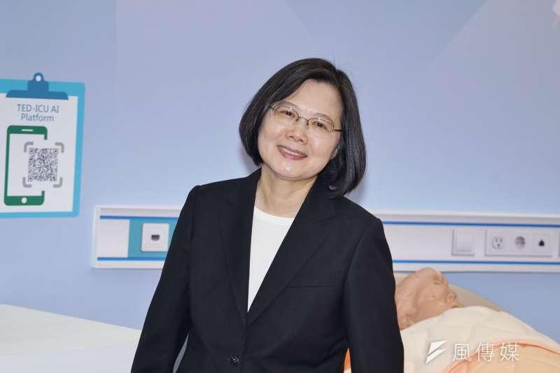 20190725-總統蔡英文出席亞洲生技大會開幕典禮。(盧逸峰攝)