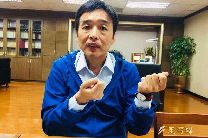 高雄市長韓國瑜罷免案將在6月6日舉行投票,日前高市民政局長曹桓榮(見圖)因相關言論涉嫌妨害投票,被高雄地檢署分案偵查辦理中。(資料照,徐炳文攝)
