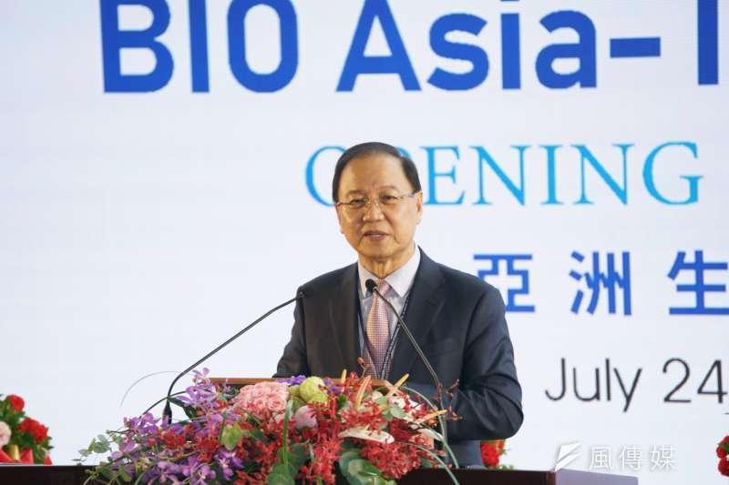 台灣爭取莫德納疫苗代工,李鍾熙:台灣在mRNA技術上還有一些距離,恐怕不容易。(資料照,盧逸峰攝)